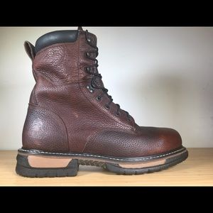 Rocky Ironclad LaceUp Waterproof Leather Work Boot